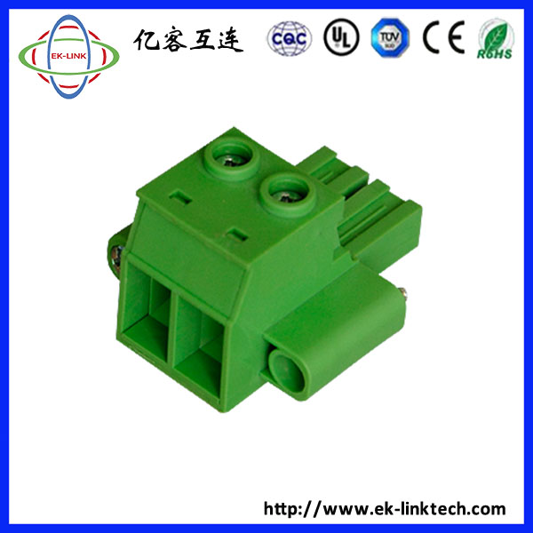 350c8d7f295c Male Sockets Pitch 10.16mm 600V 57A PCB pluggable terminal block ...